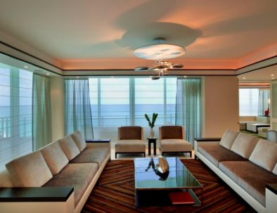 Drapes in Living Room Miami (2)